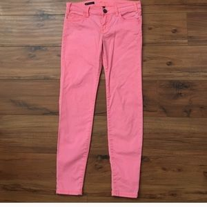 Coral pink size 6 Kut from the cloth skinny jean